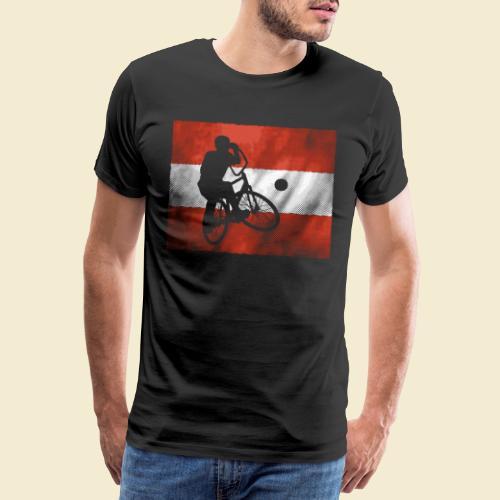 Radball   Flagge Österreich - Männer Premium T-Shirt