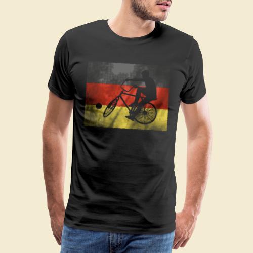 Radball | Flagge Deutschland - Männer Premium T-Shirt