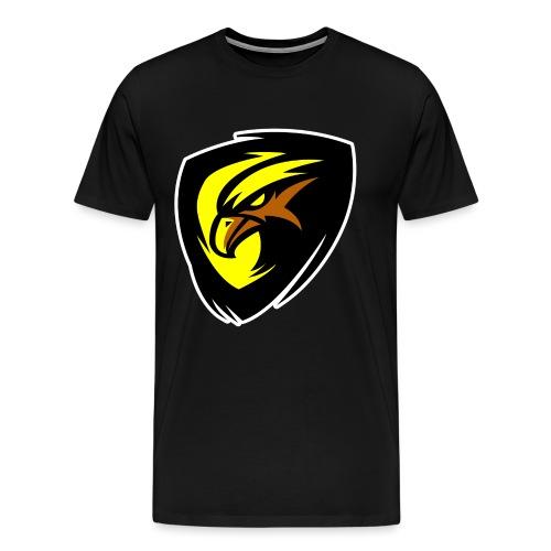 Plopp T-Shirt Svart - Premium-T-shirt herr