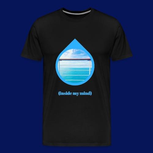 seamind png - Men's Premium T-Shirt