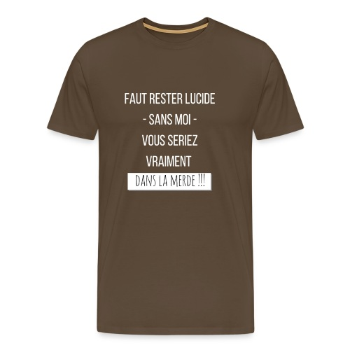 Je suis indispensable ! - T-shirt Premium Homme