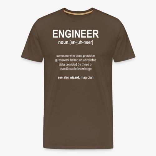 Engineer Def. 01 - T-shirt Premium Homme