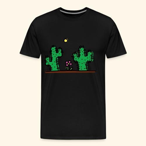Cactus - Maglietta Premium da uomo