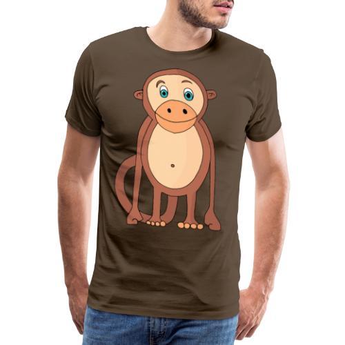Bobo le singe - T-shirt Premium Homme