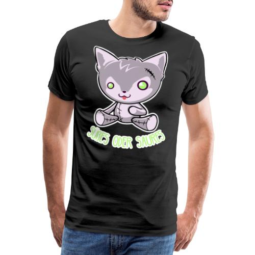 Halloween - Puppe Hund - Süßes oder Saures - Männer Premium T-Shirt