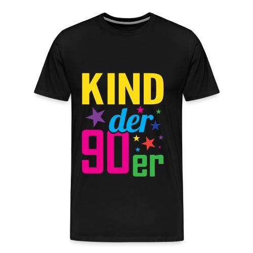 Kind der 90er Jahre 90s - Männer Premium T-Shirt
