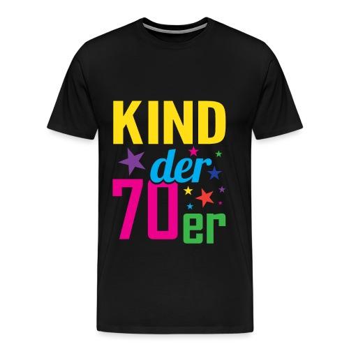 Kind der 70er - Männer Premium T-Shirt