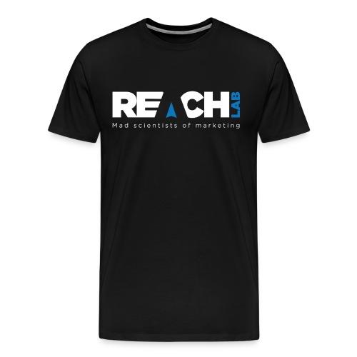 reachlab2 - Herre premium T-shirt