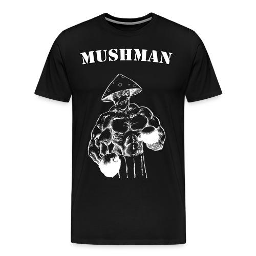 mushman blanc - T-shirt Premium Homme
