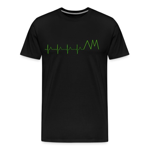Art&MotionEKG - Männer Premium T-Shirt