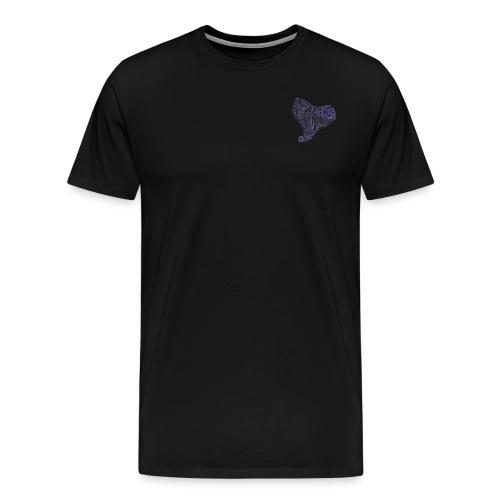 Cuor di Tartaruga Cuore Armato - Maglietta Premium da uomo