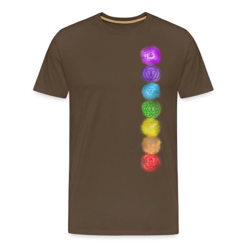 linea chakra - Maglietta Premium da uomo