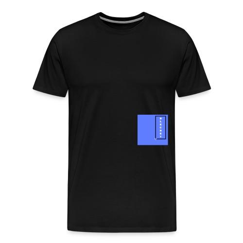 BLECRET - Blue - Men's Premium T-Shirt