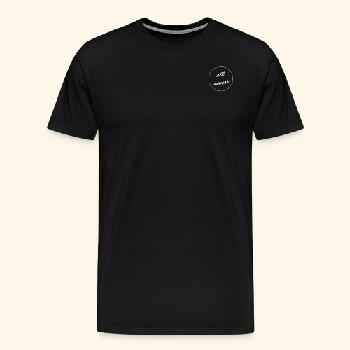 Allaccess 2 png - T-shirt Premium Homme