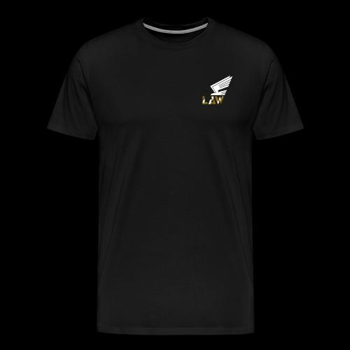 LAW Snapback - Männer Premium T-Shirt