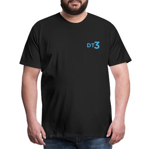DT3 Logo - Blue - Männer Premium T-Shirt