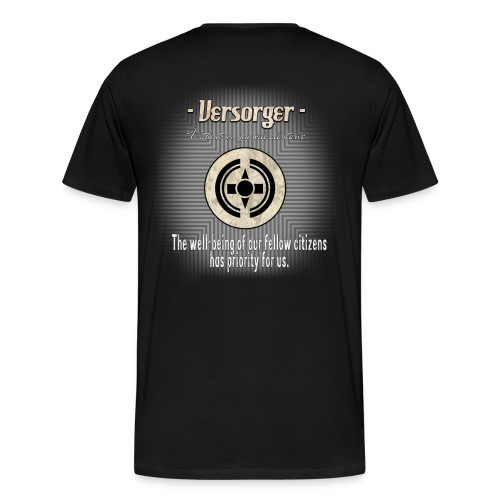 Versorger The well being has priority - Männer Premium T-Shirt