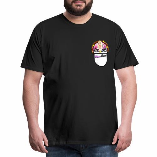 Nina Nice Pocket - Männer Premium T-Shirt