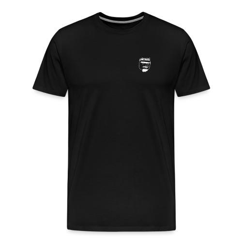Ghemba stilizzato bianco - Maglietta Premium da uomo