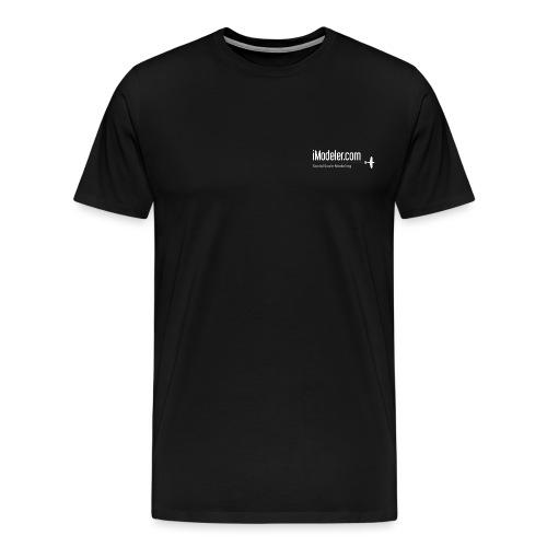 imodeler_logo_hires_black - Men's Premium T-Shirt