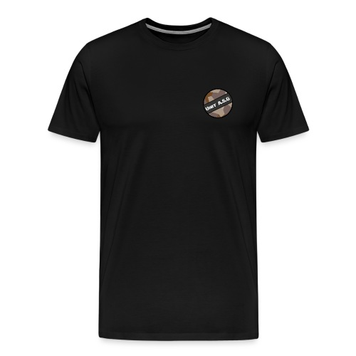 UnitASG badge desert - Premium-T-shirt herr
