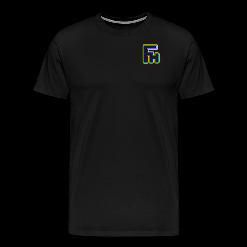 Frosty Haggis Rainbow - Men's Premium T-Shirt