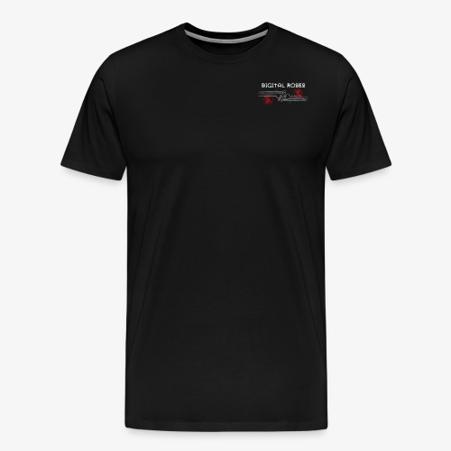 Logo DIGITAL ROSES - T-shirt Premium Homme