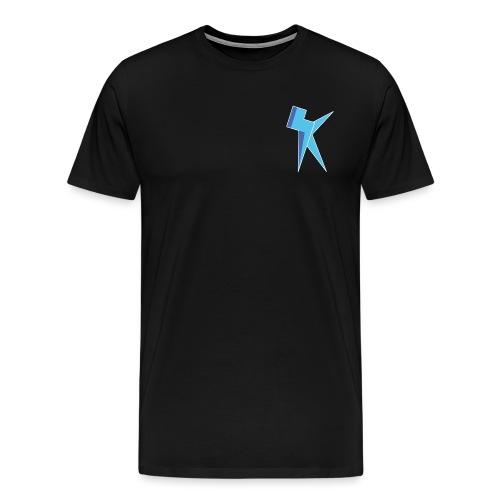 K Vlogs Logo - Mannen Premium T-shirt