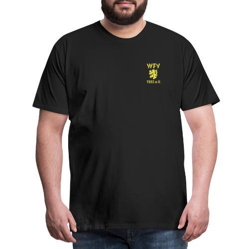 WFV Logo vorn und hinten - Männer Premium T-Shirt