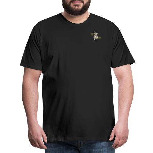 Velar Prana Shirt Men - Black/WhiteYellow - Männer Premium T-Shirt