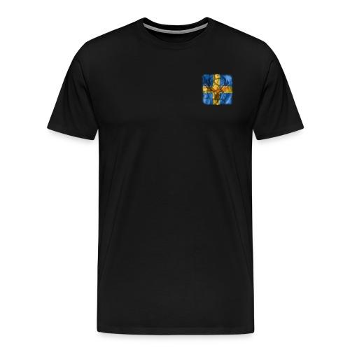 Swedish Phoenix - Premium-T-shirt herr