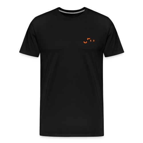 UFO Small Pocket Logo - Front and Back - Männer Premium T-Shirt