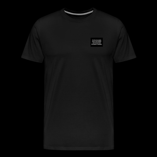 drôle - T-shirt Premium Homme