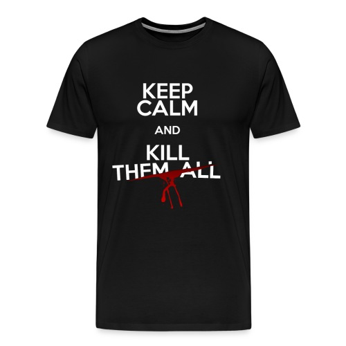 KCA KILL THEM ALL png - T-shirt Premium Homme