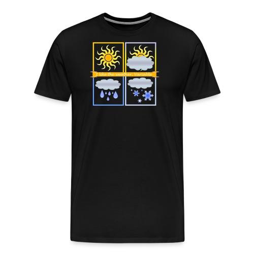 Clima Variabile - Maglietta Premium da uomo