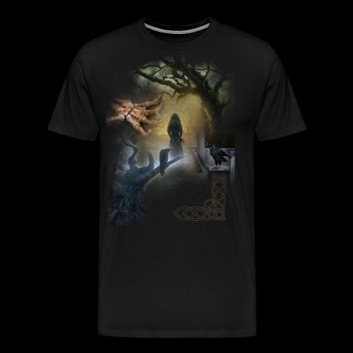 Dark Side No. 01 - Männer Premium T-Shirt