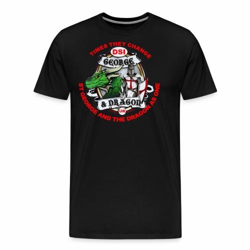 St George Dragon new - Men's Premium T-Shirt