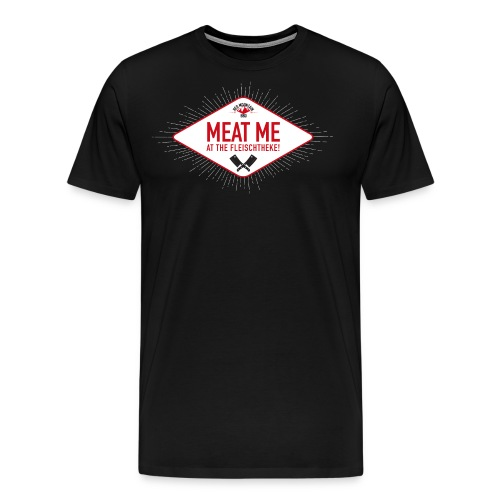 Meatme Logo - Männer Premium T-Shirt