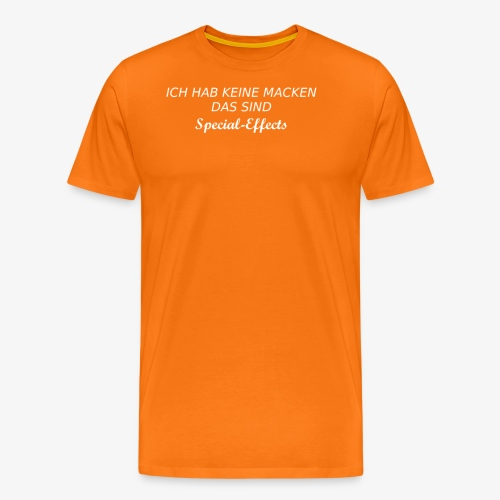 Ich hab keine Macken - Männer Premium T-Shirt