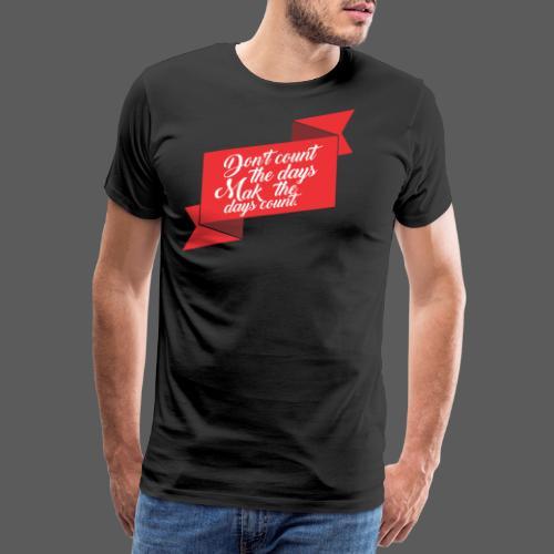 Dias - Camiseta premium hombre