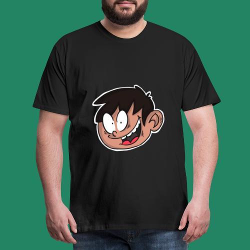 Comic Head - T-shirt Premium Homme
