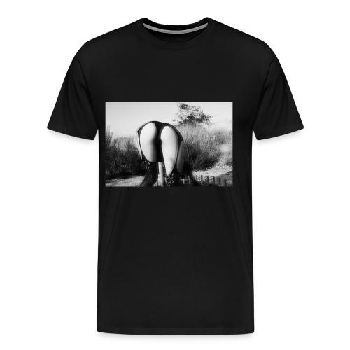 distorsion - Camiseta premium hombre