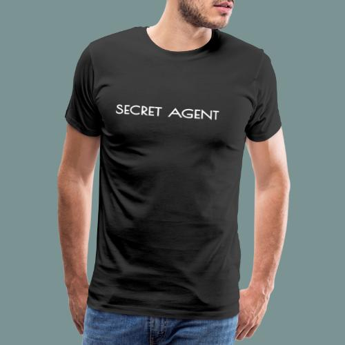 Secret agent - Mannen Premium T-shirt