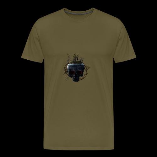 Tête de mort île - T-shirt Premium Homme