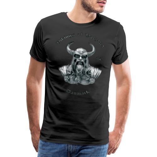 Fuld ryg minus skygge png - Herre premium T-shirt