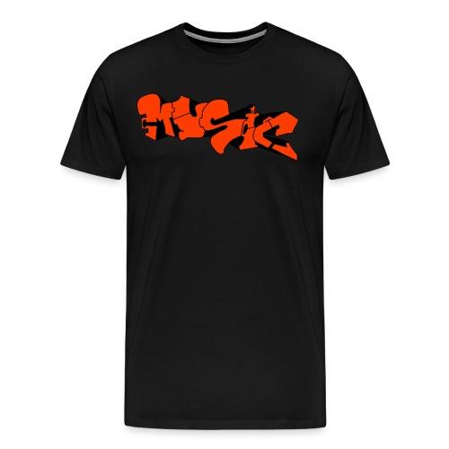 Music, Musik - Männer Premium T-Shirt