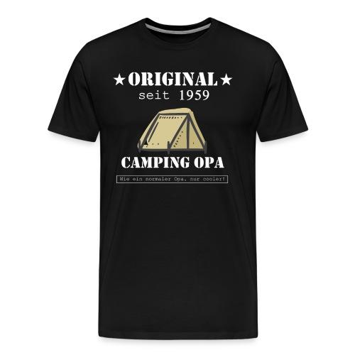 Camping Opa seit 1959 - Männer Premium T-Shirt