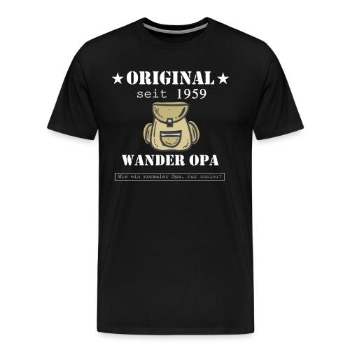 Wander Opa 1959 - Männer Premium T-Shirt