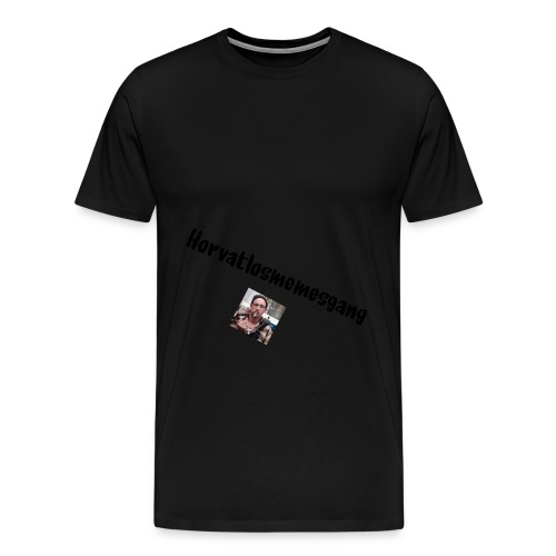 Horvatmemesgang offcial Hoodie - Männer Premium T-Shirt