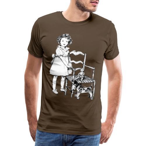 Nelly et sa chaise - T-shirt Premium Homme